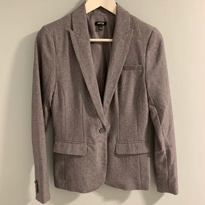 APT. 9 Lined Suit Jacket Grey